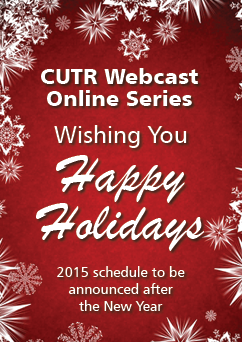 CUTR Webcast Ad