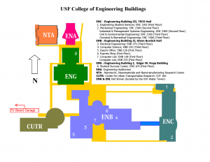 College of Engineering Map