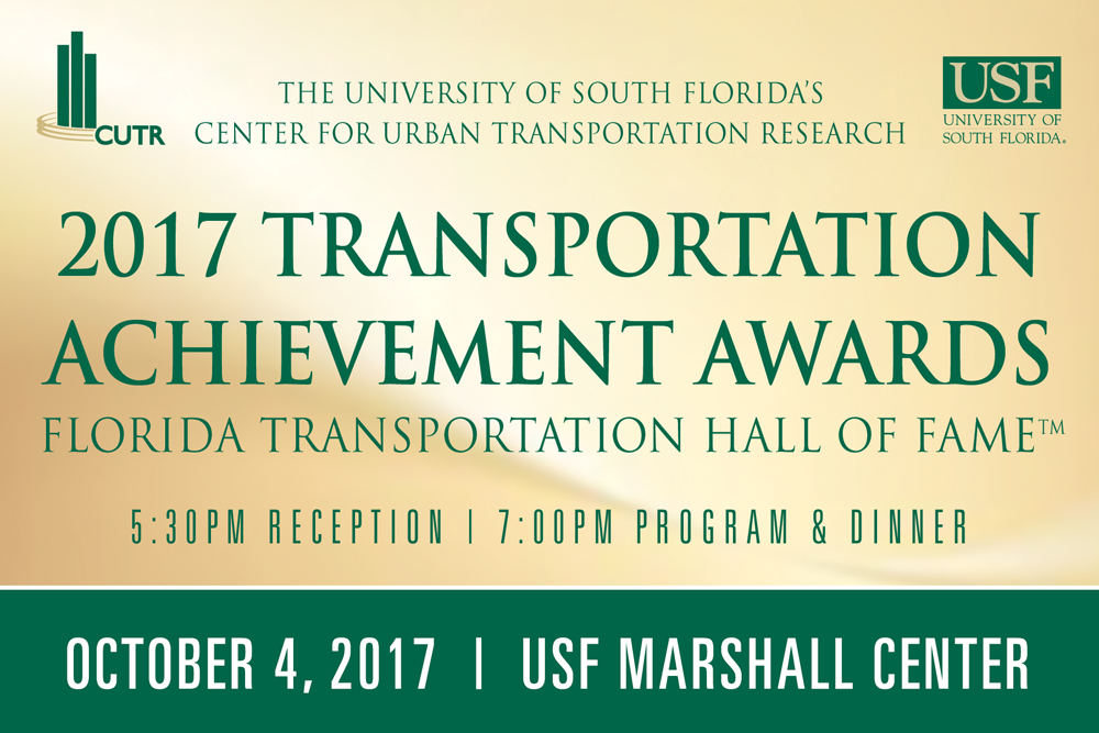 Save the Date: 2017 CUTR Transportation Achievement Awards