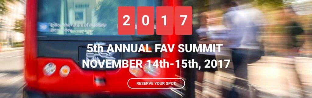 2017 Florida Automated Vehicle Summit November 14-15, 2017