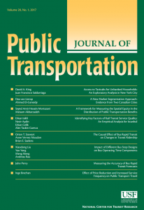 Journal of Public Transportation 20-1 Thumbnail