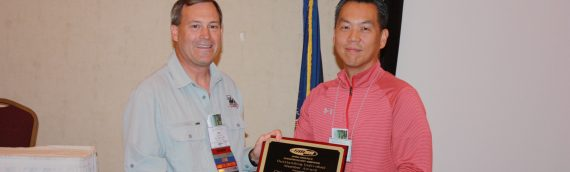CUTR's Dr. Chanyoung Lee receives Outstanding Contributions & Dedication Award