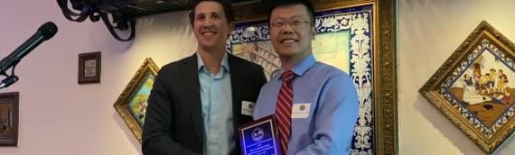 Dr. Cong Chen honored as the 2019 Tampa Bay ITE Young Professional of the Year