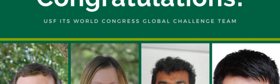 USF team selected as one of three regional finalists for ITS World Congress Global Challenge