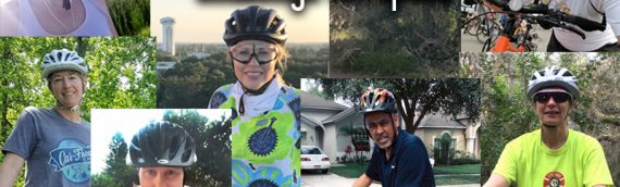 CUTR employees participate in National Bike Month