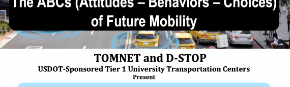 Register now: Highlights from an In-Depth Behavioral Survey on Transformative Technologies in Transportation