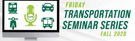 Friday Transportation Seminar Series: Panos Anastasopoulos
