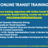 Online Transit Training