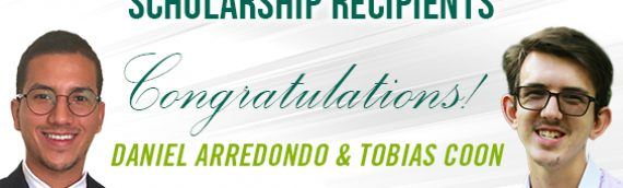 Daniel Arredondo and Talia Coon named as CTEDD Scholarship recipients