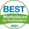 More Than 450 Workplaces Named Best Workplaces for Commuters: 2021 List Breaks All-time Record