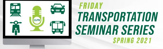 """Friday Transportation Seminar Series – """"The Airport Master Planning Process – A Review in Times of COVID."""""""
